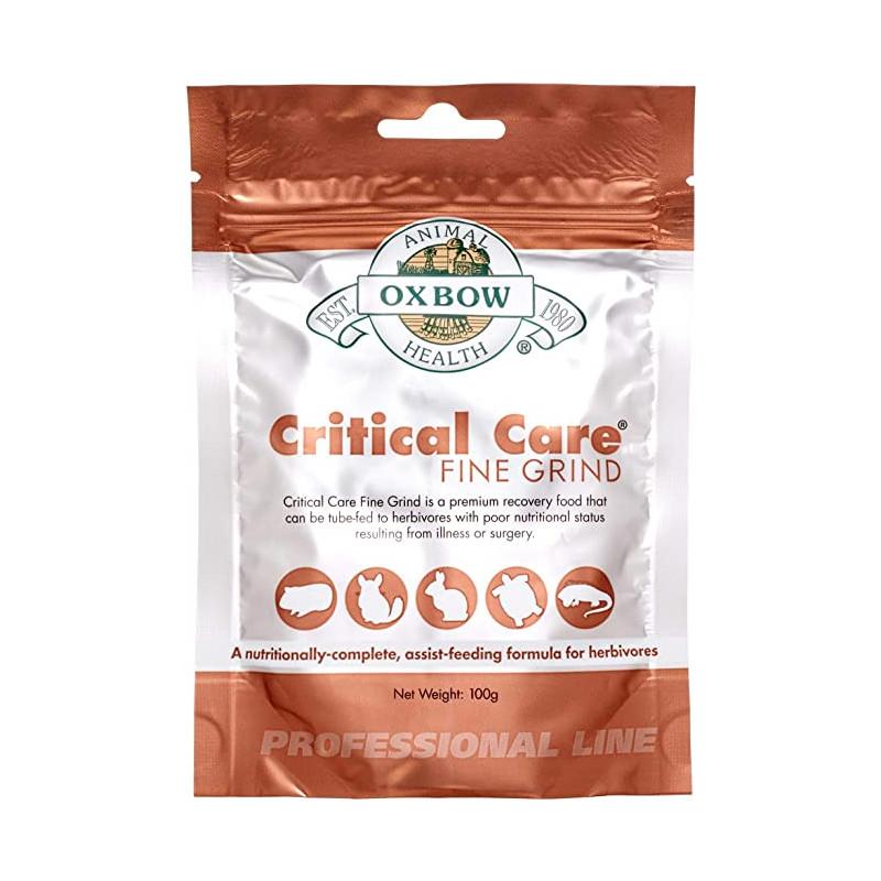 """Critical Care Fine Grind"" Alimento Oxbow 100 Gr"
