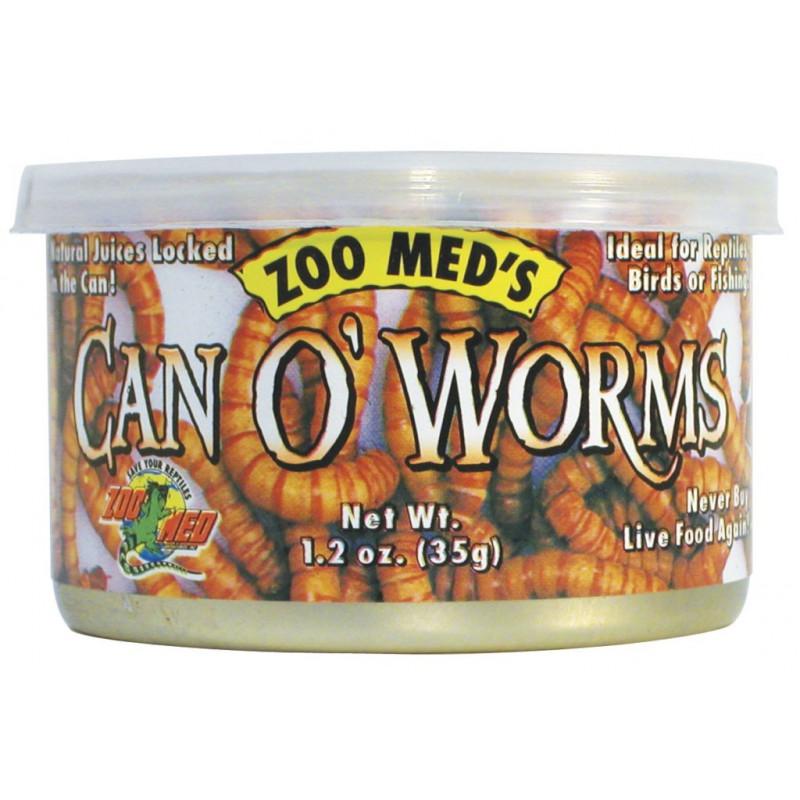 Can O' Worms Gusanos / Tenebrios en lata 35gr.