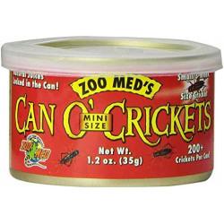 Can O' Crickets Mini Size Grillos en lata 35 gr.