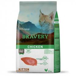 "Bravery Grain Free Kitten Pollo ""Gatito"" 2 Kg."
