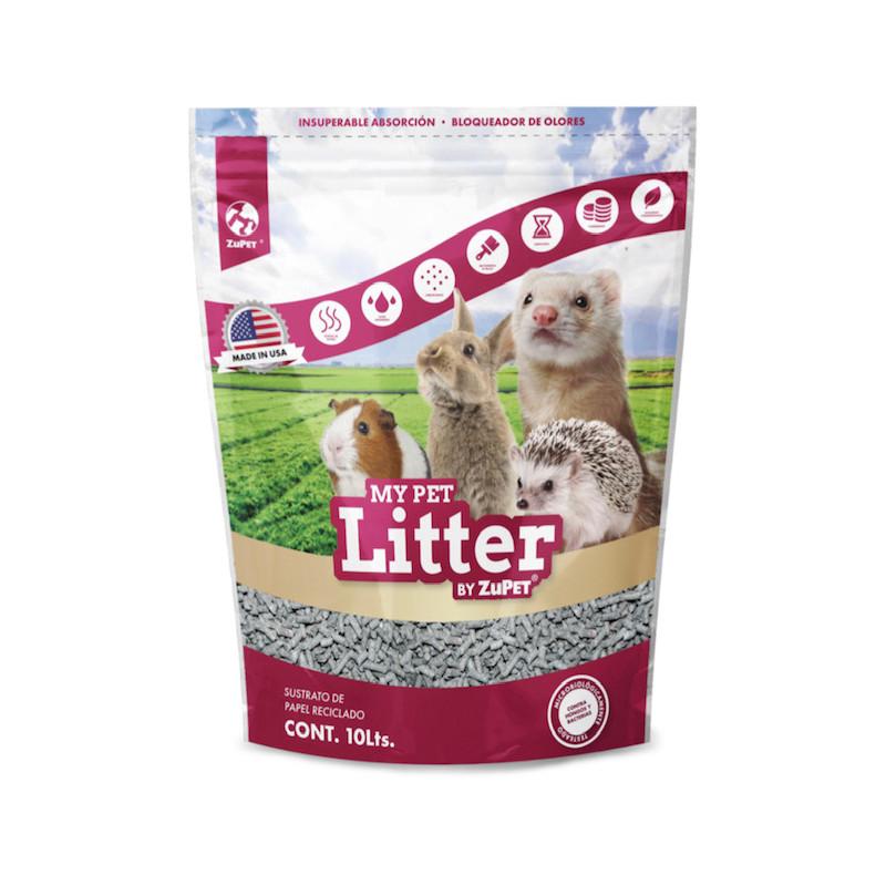 Sustrato Papel My Pet Litter 4 lt. y 10 lt.