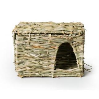 Casa Rectangular de Heno Conejos Cuyes Chinchillas Hurones