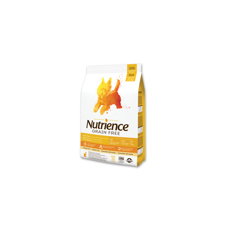 Nutrience Grain Free Razas Pequeñas 2,5 Kg. y 5 Kg.