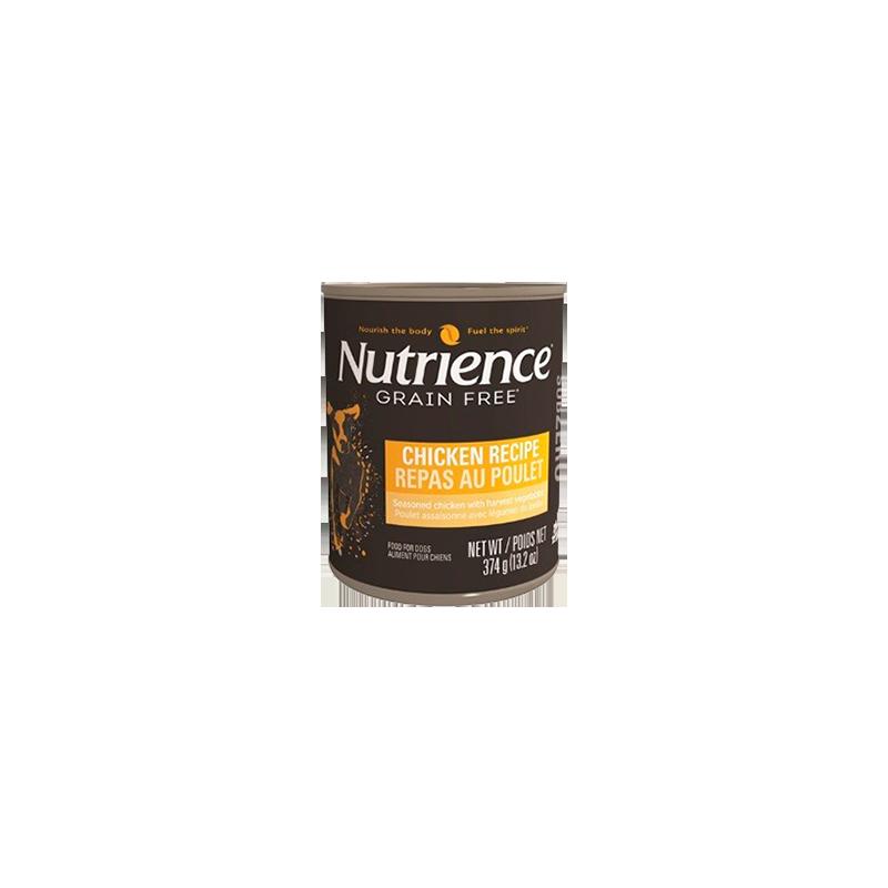 """Nutrience Subzero Grain Free """"Receta de Pollo"""" 374 g. lata / tarro"""