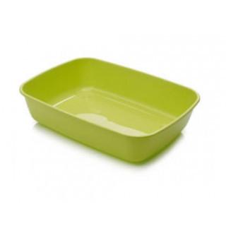 Baño / Bandeja Sanitaria Gatos Iriz color verde 50 cm.