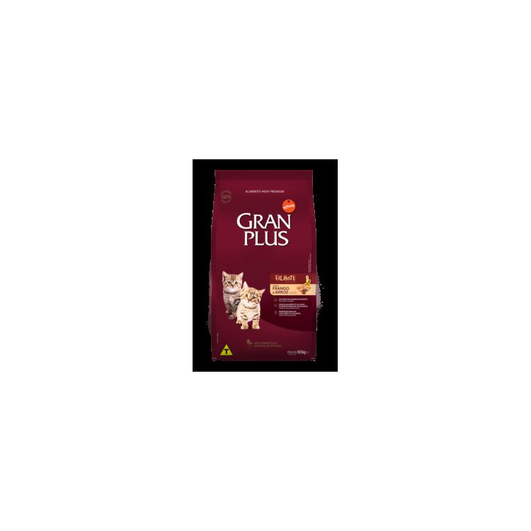 """Gran Plus Filhote Kitten Frango & Arroz """"Gatito pollo"""" 1 Kg."""