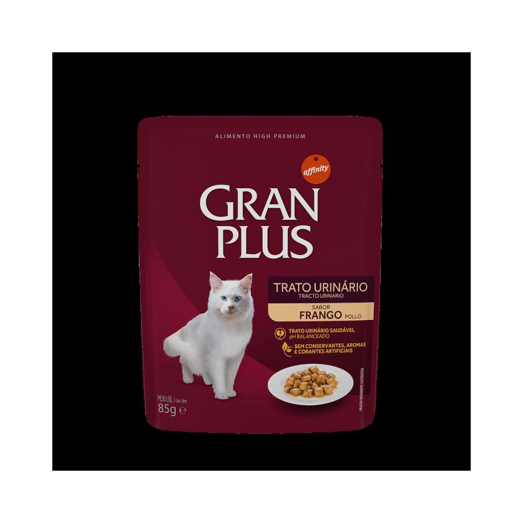 """Gran Plus Tracto Urinario pouch """"Sachet Sabor Pollo"""" 85 g."""