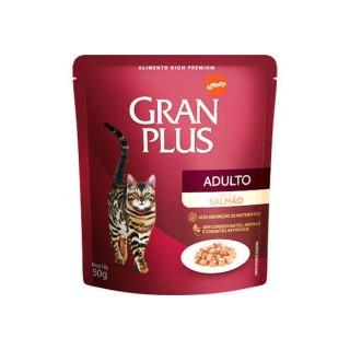 "Gran Plus Gatos Adultos pouch ""Sachet Sabor Salmón"" 85 g."