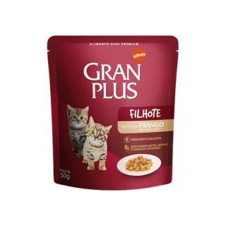 "Gran Plus Filhote Kitten pouch ""Sachet Gatito Pollo"" 85 g."