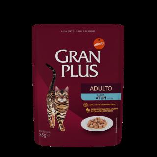 "Gran Plus Gatos Adultos pouch ""Sachet Sabor Atún"" 85 g."